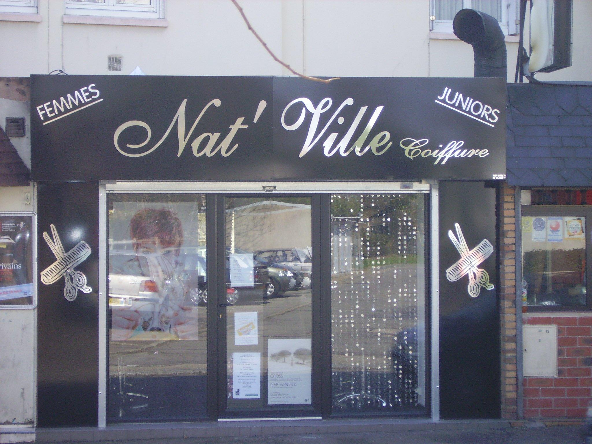 Neon store 76 neon store 76 - Panneau publicitaire salon de coiffure ...
